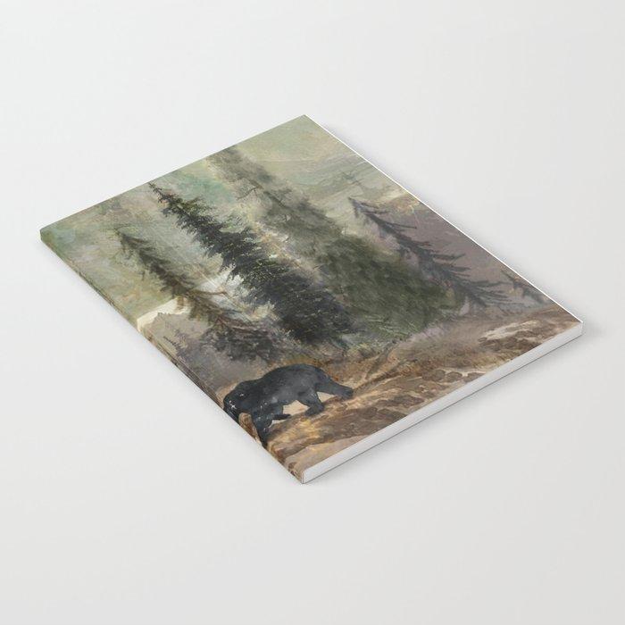 Mountain Black Bear Notebook