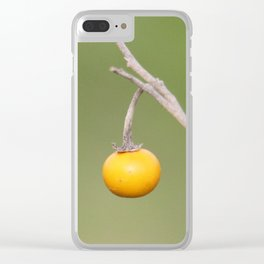 Prince of Peace Clear iPhone Case