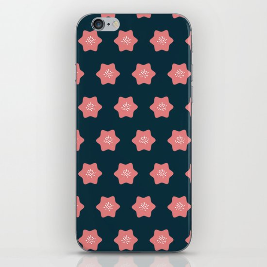 Summer pattern iPhone & iPod Skin
