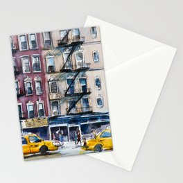 New York, wtercolor sketch Stationery Cards