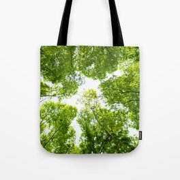New green leaves Tote Bag