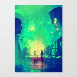 BLADE RUNNER Painting Poster | PRINTS | Blade Runner 2049 #M1 Canvas Print