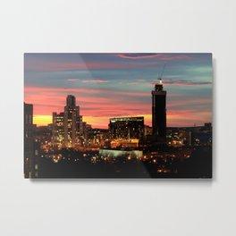 Sunset, Yekaterinburg Metal Print