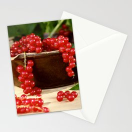 Delicious berries in still life Stationery Cards