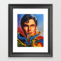 Superman! Framed Art Print