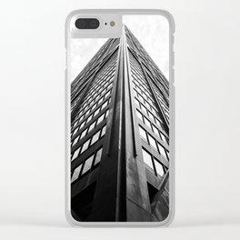 John Hancock Tower Clear iPhone Case