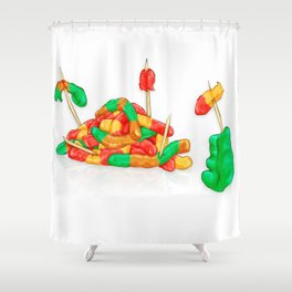 Genocide Shower Curtain