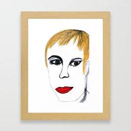 Dolores O´riordan Framed Art Print