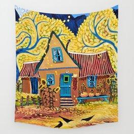 I Love Fall Wall Tapestry