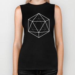 Icosahedron Seafoam Biker Tank