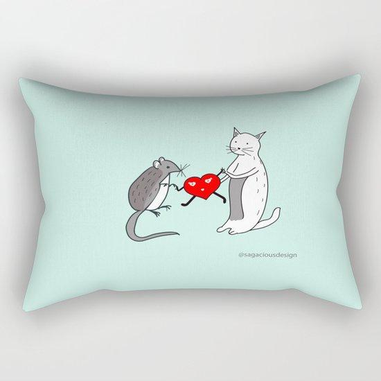 Your heart is mine Rectangular Pillow