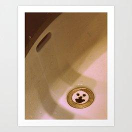 Happy Sink Art Print