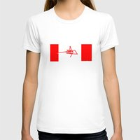 canada T-shirts featuring Canada by StazKnak