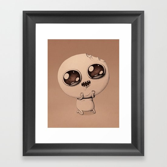 When you really want something. Framed Art Print