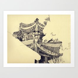 The Summer Palace Art Print