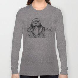 Mr Walrus u cant dance.. Long Sleeve T-shirt