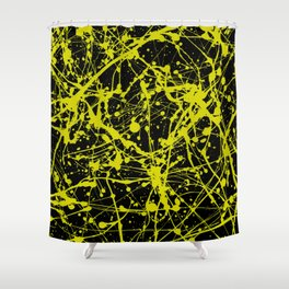 Splat! 14 (Buzzy Bumble Bee) Shower Curtain
