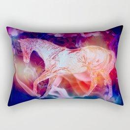 Fire Horse Rectangular Pillow