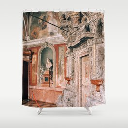 She Sells Seashells | Munich, Germany Shower Curtain