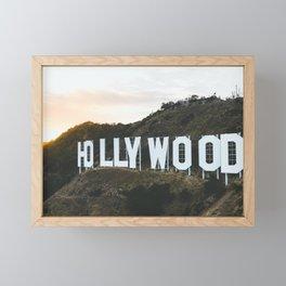 Hollywood Sign (Los Angeles, CA) Framed Mini Art Print