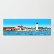 Lighthouse Panorama Canvas Print