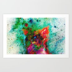 Everything is nothing 8 (therefore it was beautiful) Art Print