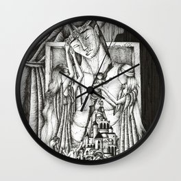 Rift in the house of Finwe Wall Clock