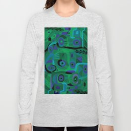 Cabins in the Sea Long Sleeve T-shirt