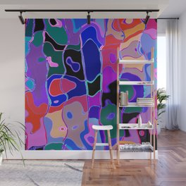 Color Puzzle 1 Wall Mural