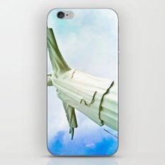 With faith everything is power. iPhone & iPod Skin