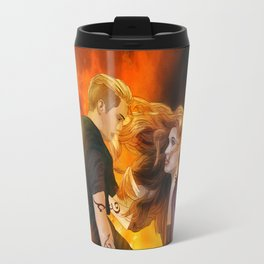 Clace heavenly fire Travel Mug