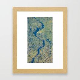 Shadow Creek Framed Art Print