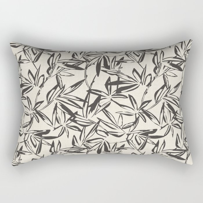 JUNGLIA CHARCOAL Rectangular Pillow