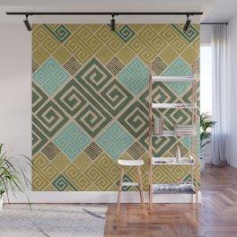 Meander Pattern - Greek Key Ornament #6 Wall Mural