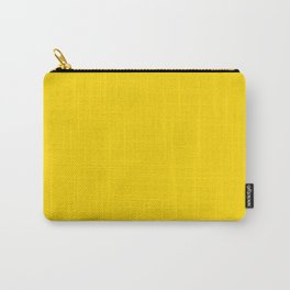 School bus yellow - solid color Carry-All Pouch