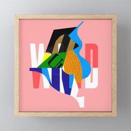 New Wild Framed Mini Art Print