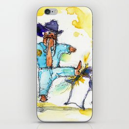 Walrus, Texas Ranger iPhone Skin