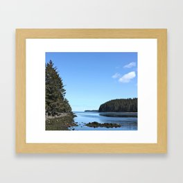 Alaskan Beach Photography Print Framed Art Print