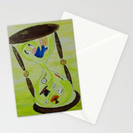 Alice, Out of Time Stationery Cards