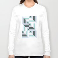 60s Long Sleeve T-shirts featuring Maze | 60s by Wood + Ink