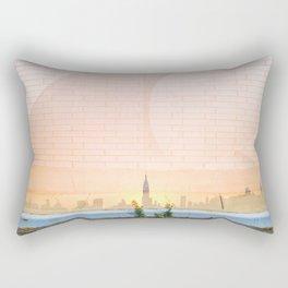 Greenpoint Sunset Rectangular Pillow