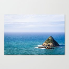Island in the Blue Canvas Print