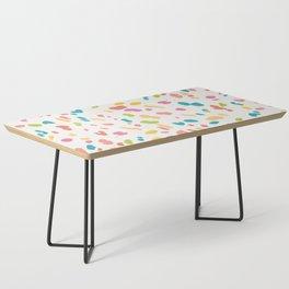 Colorful Animal Print Coffee Table