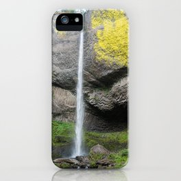 Latourell Falls, Oregon iPhone Case