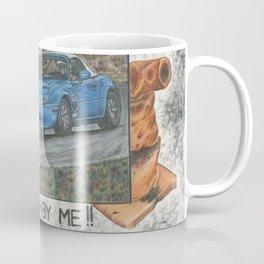 It blue by me. Coffee Mug