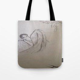Becoming Angel Tote Bag
