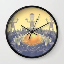 Rock Characters Wall Clock
