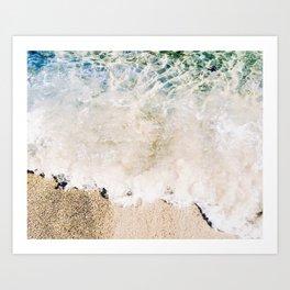 Malibu Shore Art Print