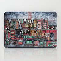 planet of the apes iPad Cases featuring DAWN OF THE PLANET OF THE APES by sokteulu