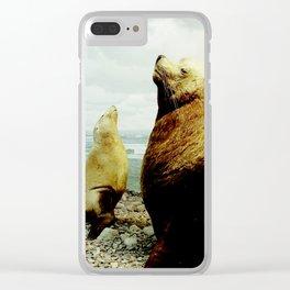 Sea Lion II Clear iPhone Case